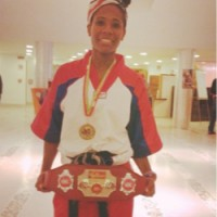 World Champion Morgan Plowden