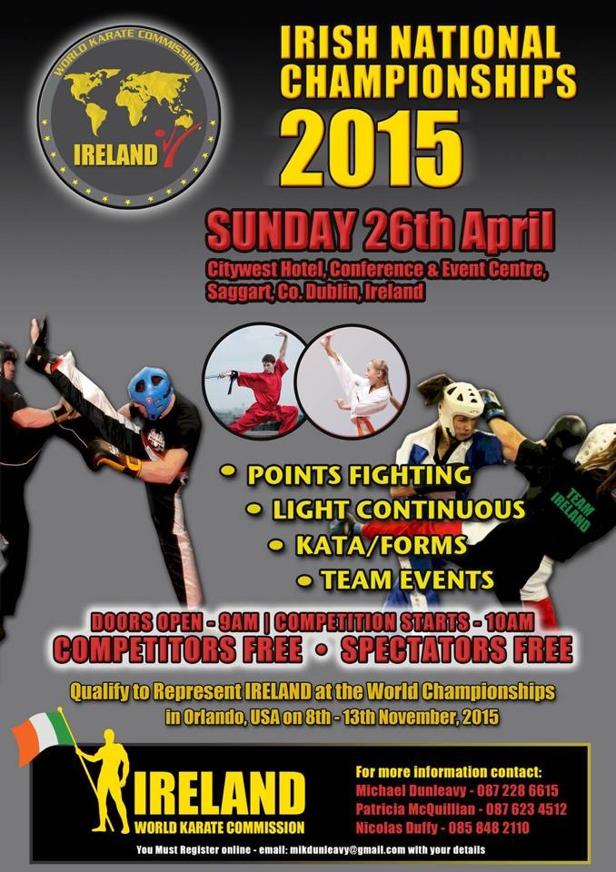 2015 Irish National Championships